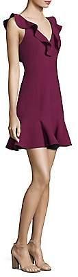 LIKELY Women's Harlow Ruffle Mini Dress