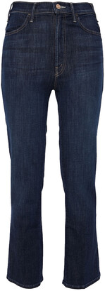 Mother The Insider High-rise Kick-flare Jeans