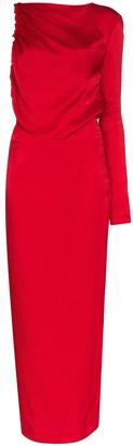 MATÉRIEL Single Sleeve Midi Dress