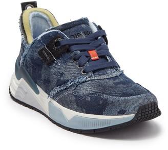 Diesel Brentha Distressed Denim Sneaker