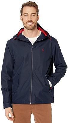 Polo Ralph Lauren Polo Active Windbreaker Jacket (Aviator Navy) Men's Jacket