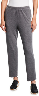 Eileen Fisher Petite Stretch Terry Tapered Ankle Pant