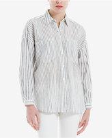 Max Studio London Mixed-Stripe Shirt