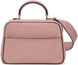 Valextra Serie S Mini Bag in Dusty Pink