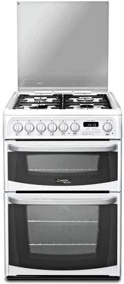 Hotpoint Cannon CH60DHWF 60cm Double Dual Fuel Cooker -White