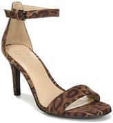 Naturalizer Leah Cheetah Ankle Strap Sandal - Wide Width Available