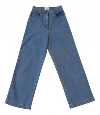 Nanushka Blue Cotton Jeans