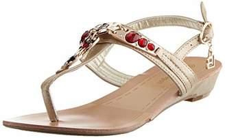 Laura Biagiotti Women's Lorelle Ankle Strap Sandals, Gold (Lt Gold 08)