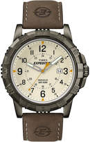 Timex Rugged Mens Leather Strap Field Watch T499907R