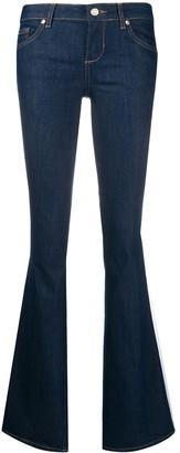 Liu Jo Mid-Rise Bell-Bottom Jeans