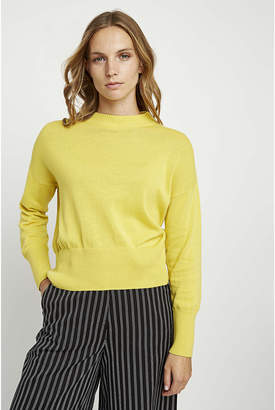 People Tree Charlotte Jumper in Yellow - 14 - Yellow