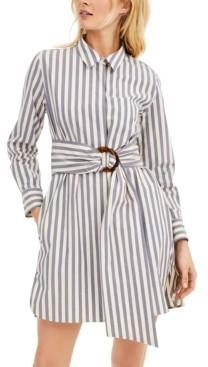 Marella Striped Poplin Shirtdress