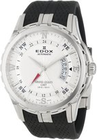 Edox Grand Ocean 93004-3-AIN 45mm Automatic Stainless Steel Case Black Rubber Synthetic Sapphire Men's Watch