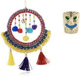Rosantica Merida Tassel & Pompom Earrings