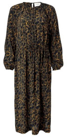 Just Female Mie Maxi Dress In Snake Print - S