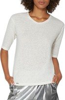 Halston Scoop-Neck Tee