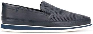 Baldinini Perforated Slip-On Sneakers
