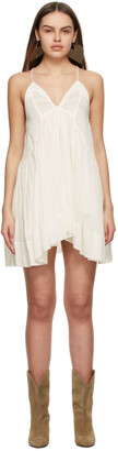 Isabel Marant Off-White Silk Kitou Dress