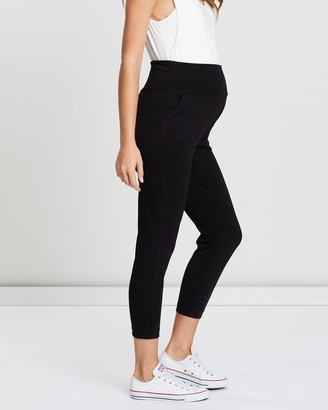 Angel Maternity Soft Ponti Relax Maternity Pants