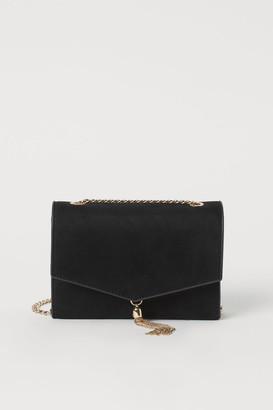 H&M Tassel-detail Clutch Bag - Black