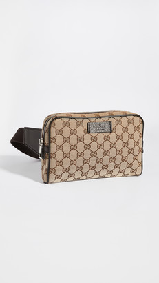 Shopbop Archive Gucci GG Canvas Waist Bag
