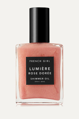 French Girl Organics Lumiere Rose Doree Shimmer Oil, 60ml