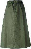 Sofie D'hoore A-line midi skirt - women - Cotton - 34