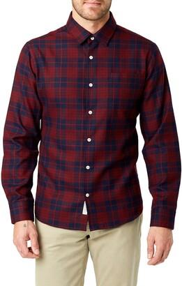 7 Diamonds Sylvan Slim Fit Flannel Shirt