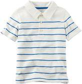 Carter's Baby Boy Slubbed Thin Stripe Polo