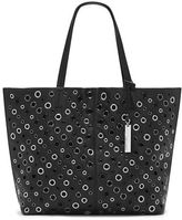 Vince Camuto Leather Grommet Tote