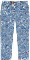 Stella McCartney Girl slim fit printed jeans - Lohan