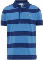 Lacoste Sport Boys Striped Polo