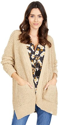 Rip Curl Safari Sun Cardi (Sand) Women's Clothing