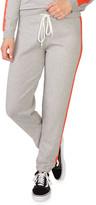 Monrow Vintage Sweatpants w/ Contrast Stripes