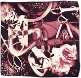Christian Dior Purple Silk Scarves