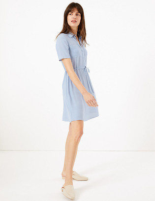 Marks and Spencer Mini Shirt Dress