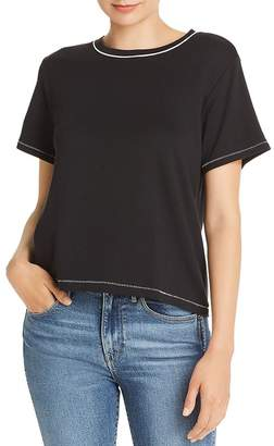 Rag & Bone Sporty Contrast-Trim Tee