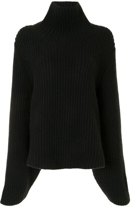 KHAITE Ribbed Long-Sleeve Jumper