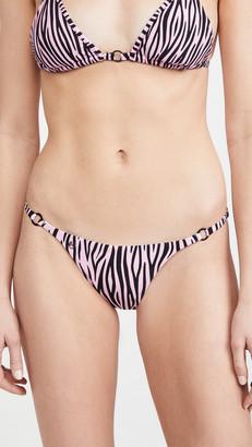 Maaji Striped Fantasy Deena Bikini Bottoms