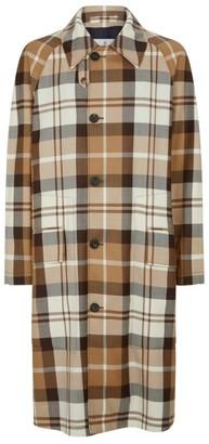 Vivienne Westwood Wool Tartan Overcoat