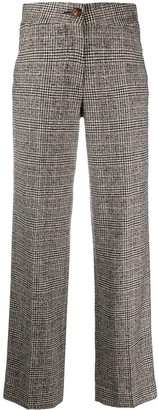 BLAZÉ MILANO Checked Tweed Trousers