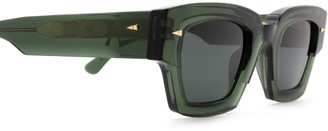 AHLEM Villette Dark Green Sunglasses