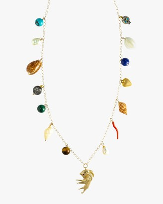 Haute Victoire Shell Charm Necklace
