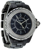 Chanel Diamond J12 Watch