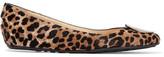 Jimmy Choo Wray Leopard-print Calf Hair Ballet Flats - Leopard print