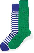 Ralph Lauren Stretch Cotton Sock 2-pack