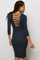 American Eagle Outfitters Don't Ask Why Ribbed Bodycon Dress