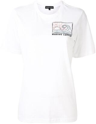 Markus Lupfer front-logo T-shirt