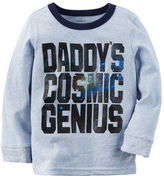 Carter's Long-Sleeve Cosmic Genius Graphic Tee