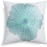 """Crate & Barrel Bloom Cool 20"""" Pillow with Down-Alternative Insert"""